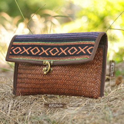 Moda nacional de la mujer bolsos pequeños de compras! Niza rayas impresas señora viajes bolsas de paja del todo fósforo playa de arena Flap portador