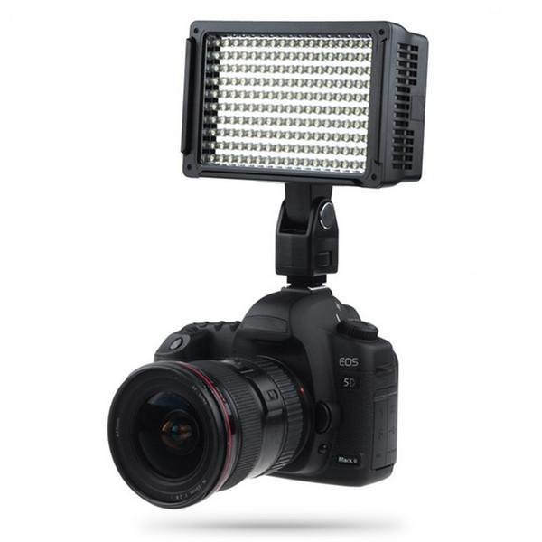 Lightdow Pro Haute Puissance 160 LED Lampe Vidéo Caméscope Caméra avec Trois Filtres 5600K pour DV Canon Nikon Olympus Appareils photo LD-160 BA
