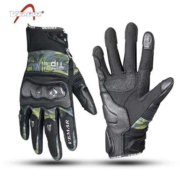 Nuevo modelo VEMAR VE-179 motocicleta guantes de carbono / guantes deportivos / guantes de carrera 3 colores