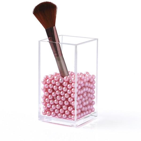 New clear jewelry Storage box desk pen box Cosmetic Organizer Makeup Organizer Makeup brush Storage box Desk storage