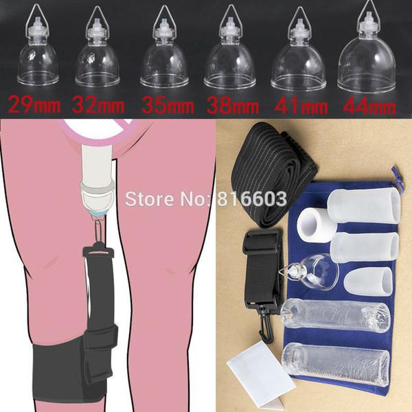 Penis Büyütücü / genişletici / sedye Erkek Geliştirme Gerginlik Bacak Proextender, penis Büyütme Penis Pompası Phallosan Cihazı Y19052703