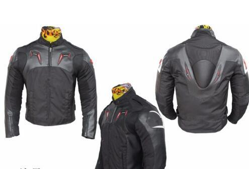 2018 4 Colors Waterproof Motocross Riding jackets Oxford cloth 600D + PU leather Motorcycle racing jackets with Hump