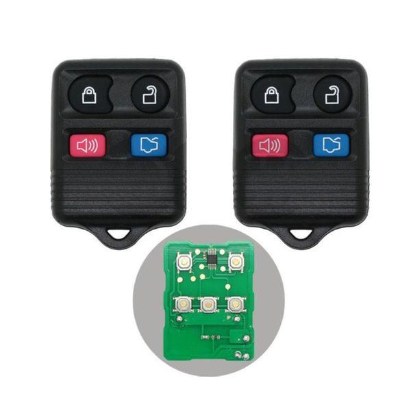 2pcs / Lot Remote Keyless Entry подходит для замены Форда Mercury 4 Кнопки брелока