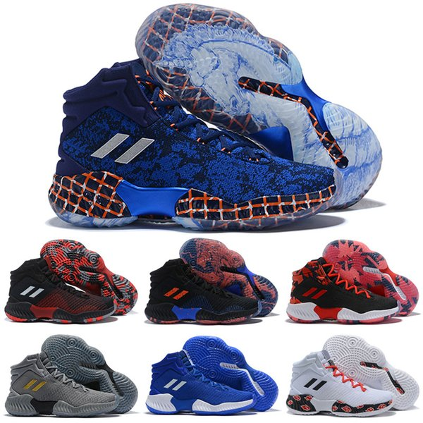 2019 New Arrival Pro Bounce Kids Basketball Shoes for Good quality multicolor Designer Shoes Brand Sneakers Sports Mens Trainers