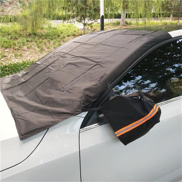 Copertura del parabrezza del parasole dell'automobile di copertura universale auto pioggia Ghiaccio Neve Protector Anti Sun UV anteriore di calore Finestra Spesso SUV