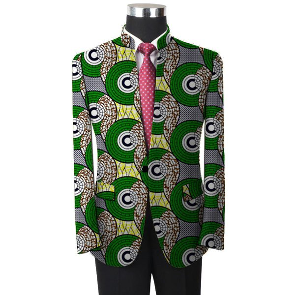 Men Wedding Suit African Blazers Slim Fit Jacket For Men Costume Business Formal Party Clothing