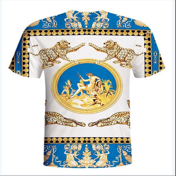 Nouveau Crenshaw Hommes Bleu T-shirt 100% Coton Classique À Manches Courtes De La Mode Des États-Unis T-Shirt D'été De Nouveauté De Bande Dessinée T-shirt
