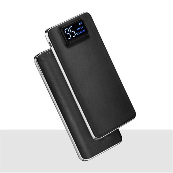 LCD Power Bank 13800mAh Battery Charger 2A Portable Mobile Power Bank for iPhone 6 5S iPad Smartphone Battery Power Bank Charger