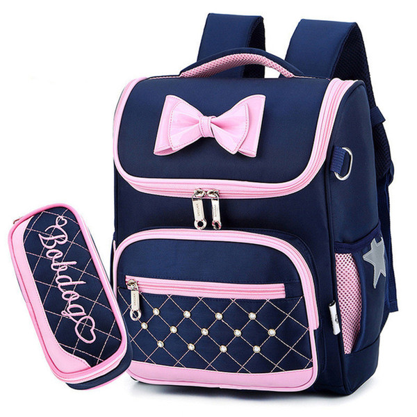 Kids School Bags Children Backpacks for Girls Waterproof Backpack Primary Schoolbag Mochila Bookbag Big and Small Size Mochila