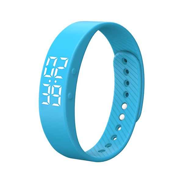 Smart Armband, T5s Smart Armband Fitness Tracker Schrittzähler Armband Kalorienzähler Timer