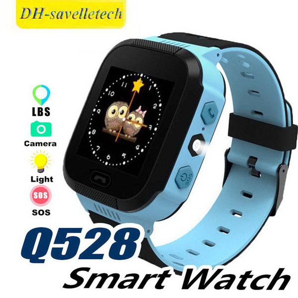New Q528 Y21 Touch Screen Kids Watch with Camera Lighting Smart Watch Sleep Monitor SOS Baby Watch PK Q750 Q90