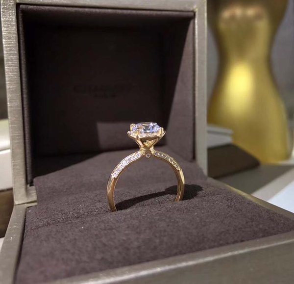 S925 gold ring