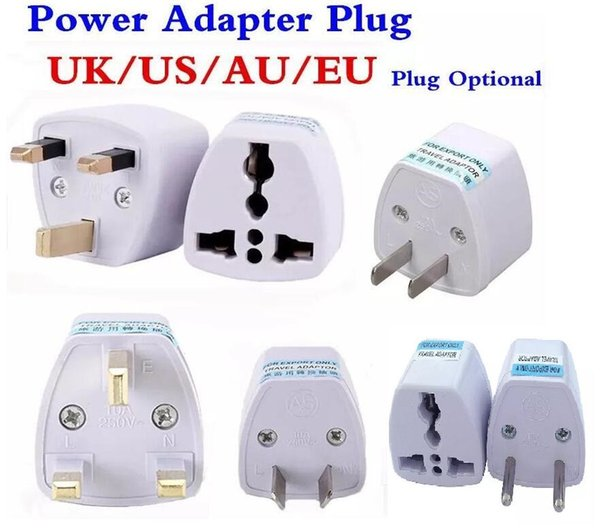 best selling 200pcs Travel Charger AC Electrical Power UK AU EU To US Plug Adapter Converter USA Universal Power Plug Adaptador Connector High Quality