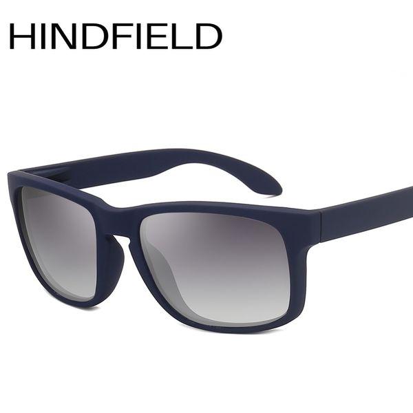 Hindfield Classique Homme Polarisé Lunettes De Soleil De Mode Rectangle Lunettes De Polarisation Pour Conduire Hommes Anti-UV O283