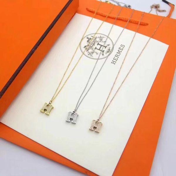 La collana del maglione delle donne del pendente della collana delle donne del pendente di cristallo di modo della stilista di Parigi di alta qualità libera il trasporto