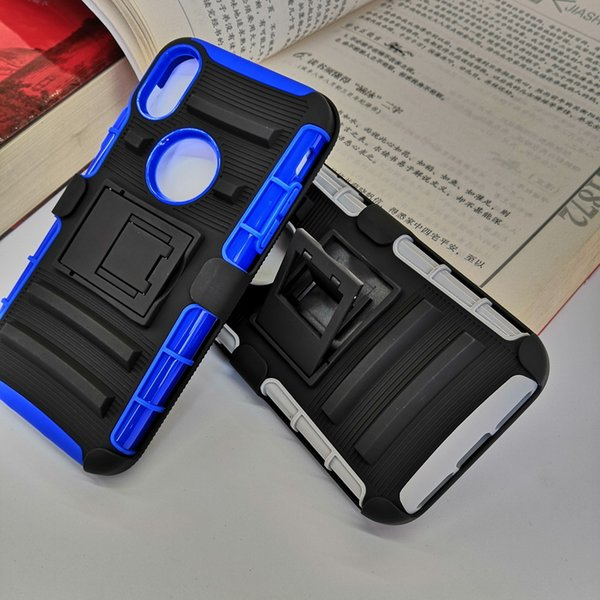 """180 rotating Defender Case 3in1 High Impact Hard Rugged Phone Cases with Swivel Belt Clip For iphone xs/s 5.8"""" christmas gift"""