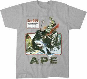 Ape 1976 Movie Not Your King Kong Camiseta Tank Hombres 039 s Mujeres 039 s
