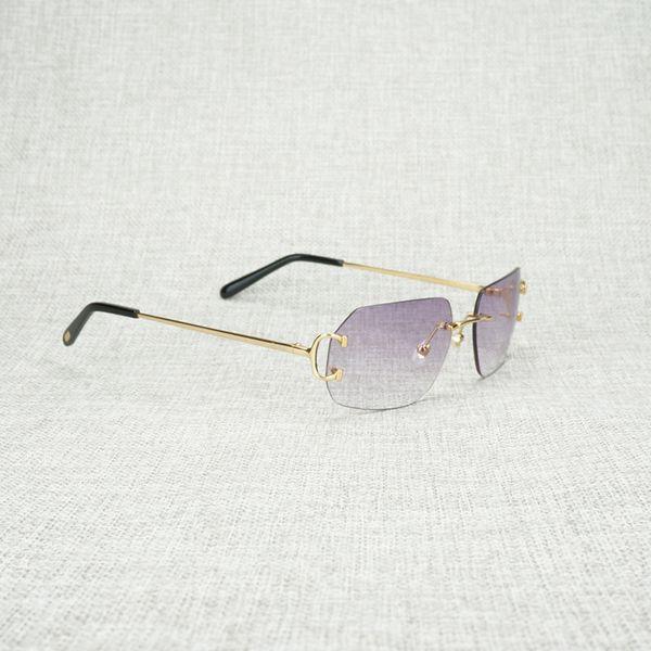 gold frame purple