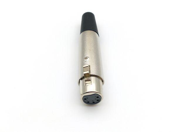 XLR 5-Pin Female Power Connector Socket