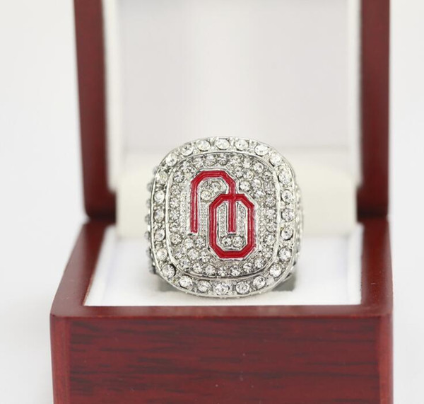 1985/1987/2015 University of Oklahoma Champion Ring Birthday Gift Fan Memorial Collection