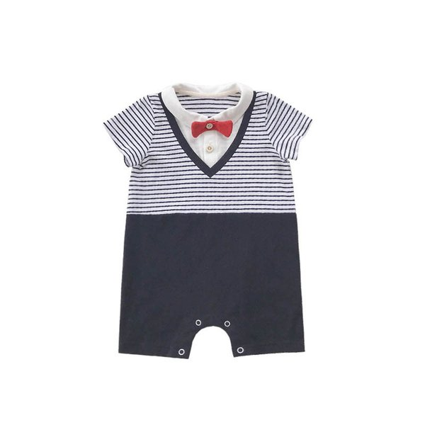 Ins Summer baby romper cotton Boy Rompers newborn baby boy clothes Newborn romper Infant Jumpsuit boys clothing Baby Onesies A4774