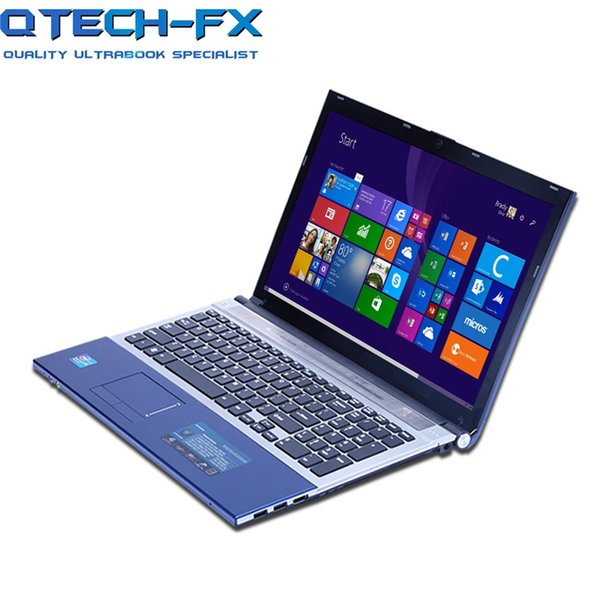 """Limited 15.6"""" Notebook 8GB RAM+320GB HDD Metal Fast CPU Intel 4 Cores Games Laptop PC Business AZERTY Spanish Russian Keyboard"""