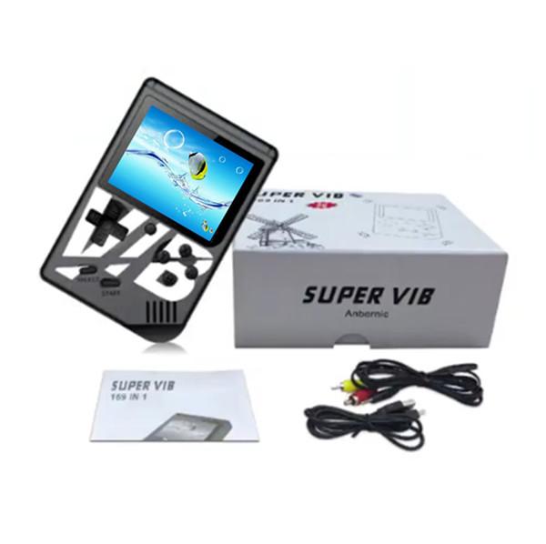 Q5 Vibrant portable joueur de jeu coloré super VIB portable Console de jeux Construit en 169 Support TV Jeux Sortie 30 Console de jeux Vibrant