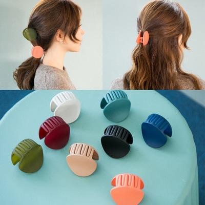 10pcs/lot Women Hair Claw Acrylic Irregular Gripper Hair Clips Barrette Crab Clamp Pins Ponytail Girls Ornaments Hair Accessories