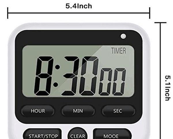 Electronic Digital Timer Switch Kitchen reminder electronics 12/24 Hour Digital timer For Cooking IN Kitchen Timer