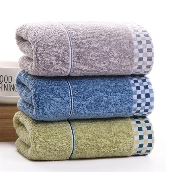 DelCaoFen Face Towel 100% Cotton Towel Terry Absorbent Washcloths Bath Salon Home Use Hot Sale Custom Your Logo