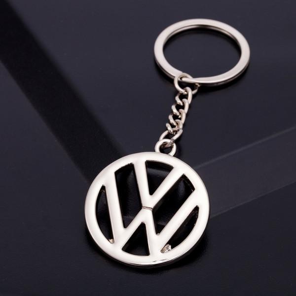 3D Metal Auto Car Logo Keychain Key Holder Creative Mini Key Ring Auto Car Key Chain Keyring For Volkswagen Nissan Ford Honda BMW Toyota