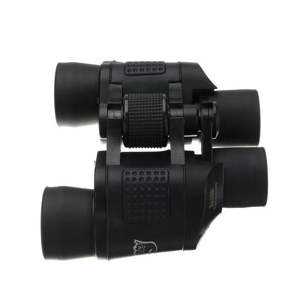 60X Jumelles Monoculaire HD Camping Night Vision 3000M Coordonnées haute puissance extérieure Noir Adulte Telescope