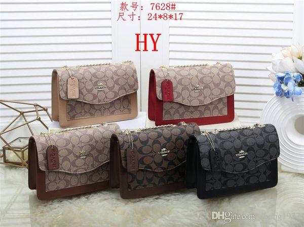 2019 новые дизайнерские сумки змеиная кожа с тиснением мода женщины сумка цепи Crossbody сумка Марка дизайнер сумка-мессенджер мешок основной HY7628