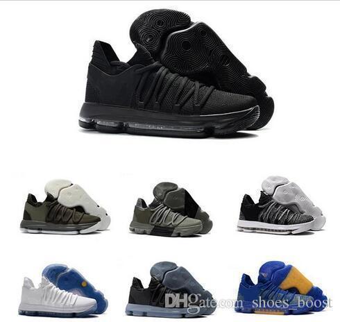 Yeni Kd 10 Basketbol Ayakkabı Erkekler erkek Kevin Durant Homme Mavi Tenis Bhm 10X9 Elite Çiçek Teyze Inciler Paskalya Spor ayakkabı