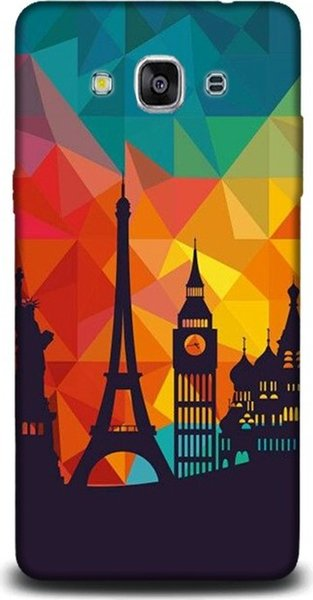 Dynamics for samsung j3 pro sunset eiffel pattern pouch case ship from turkey HB-000829258