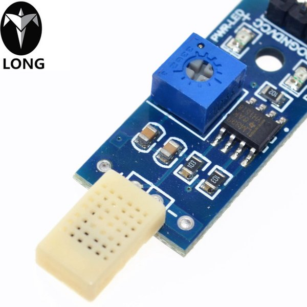 10pcs HR202 Humidity Detection Sensor Module DC 3.3V-5V LM393 Chip (3 wire system)