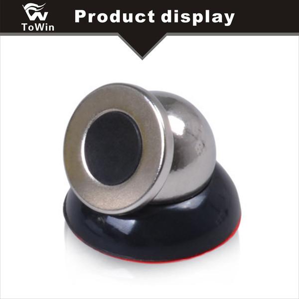 Console centrale de voiture Magnétique Téléphone portable Stent Nouveau Design Aimant Forte Magnétique Auto Home Office Mobile Téléphone Autocollants Aspiration Stent Magnétique