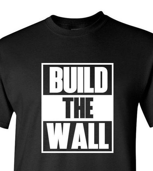 b7ce0c6b55de Build The Wall #2 T-shirt Political Tee Donald Trump President Funny Gift  Humor