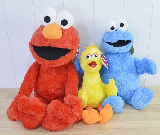 2019 Hot 45cm Sesame Street Elmo Plush Toys Soft Stuffed Doll Red Animal Stuffed Toys Christmas Gifts For Kids Toys From Dearboys 9 95 Dhgate Com