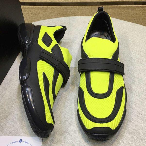 Zapatos para hombre de la vendimia Venta Nueva llegada Chunky Sneakers Deportes Transpirable Gancho Loop Casual Cool Street Fashion Zapatos Cloudbust Sneakers