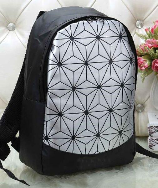 Hot!!Super fire shoulder bag men and women 2019 new trend shoulder bag geometric rhombic backpack