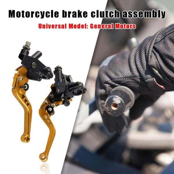 Bremsen-Kupplungs-Pumpe Motorrad Hydraulische Edelstahl Hardware Lever Einstellbare Hauptzylinder- Lever Set 12,7 mm Kolben