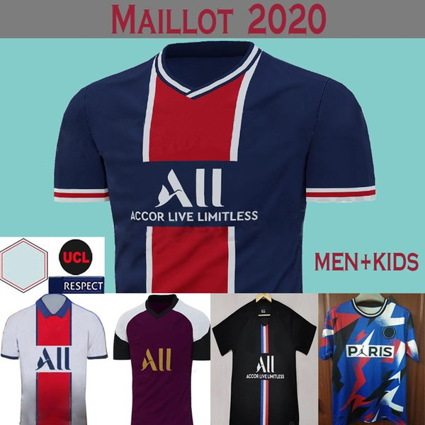 Maillot Psg Soccer Jersey 20 21 Fourth Kit Mbappe 4th Black Icardi Cavani 2020 Paris Maillots De Football Shirt Training Men Kids Sets Black Yellow Buy At The Price Of 17 74 In