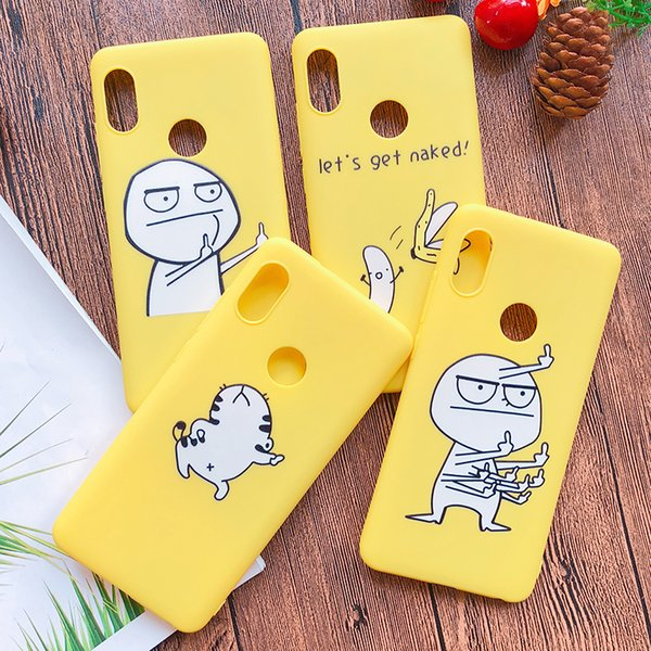 3D Funny Cartoon Phone Case For Xiaomi Redmi 5 Case For Xiaomi Redmi Note 5 pro Cover Dancing Cat Abstract Unicorn Middle Finger