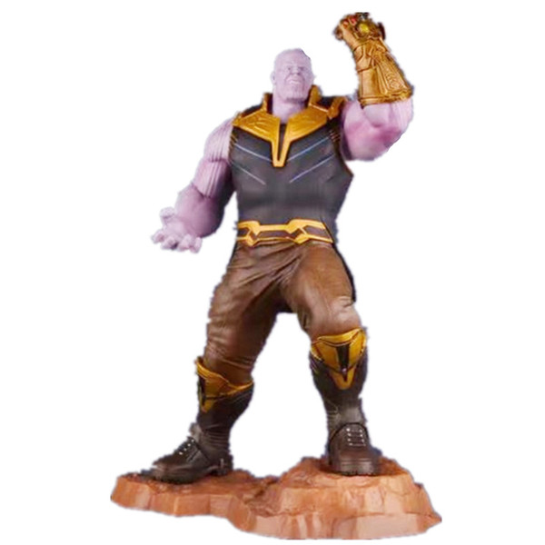 2019 new ARTFX + STATUE Avengers Infinity War Thanos with Infinity Gauntlet 1/6 Scale PVC Action Figure Model Toys Anime Doll