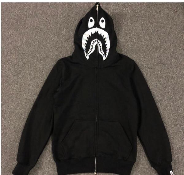 Großhandel Herbst Und Winter Hoodies Trainingsanzug Reißverschluss Sportwear Fleece Kapuzenpulli Mann Jacke Drake Schwarz Hip Hop Young Hoodie Schwarz