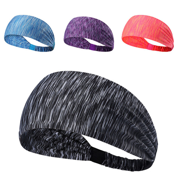 Women Wide Sports Yoga Non Slip Headband New Stretch Boho Headband Elastic Turban Running Accessories 1.67