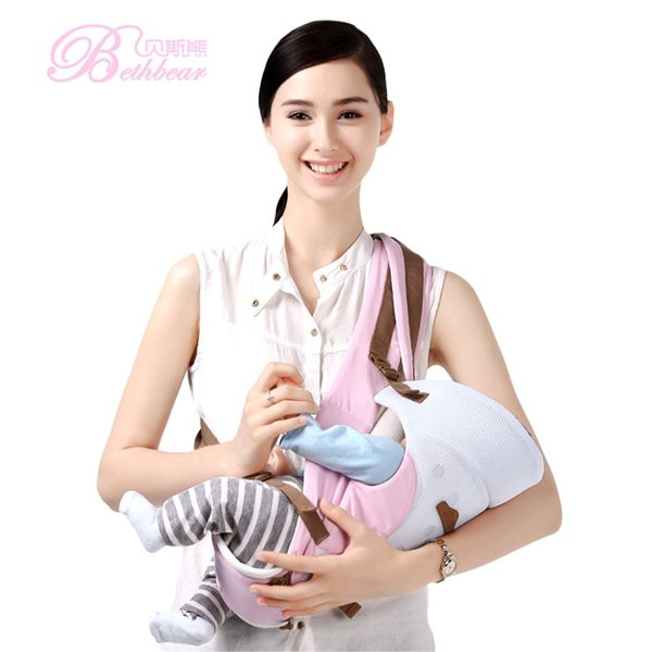 0-36 Months Bethbear Carries Comfortable Breathable Multifunction Carrier Infant Backpack Waist Stool Baby Hip Seat Backpacks Y19052102