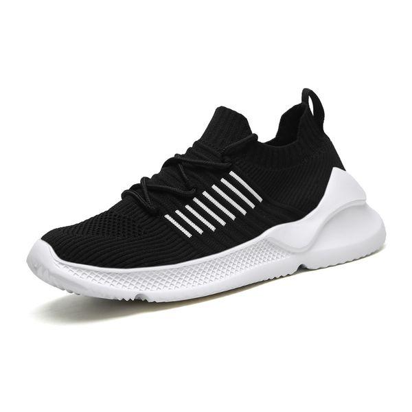 homens quentes meias respirável tênis pretos Branca Cáqui vermelho dos homens da forma instrutor homens sneaker esportes atlético à venda 40-44 estilo 2