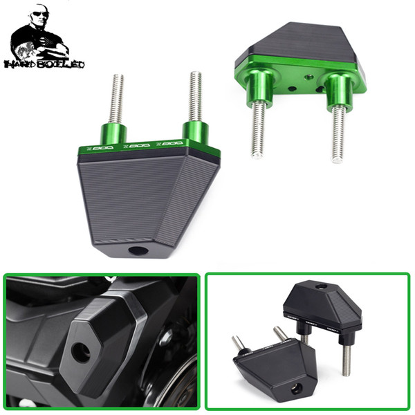 best selling Motorcycle Accessories Parts CNC Aluminum Crash Pads Frame Sliders Protector For Z800 Z 800 2013 2014 2015 2016